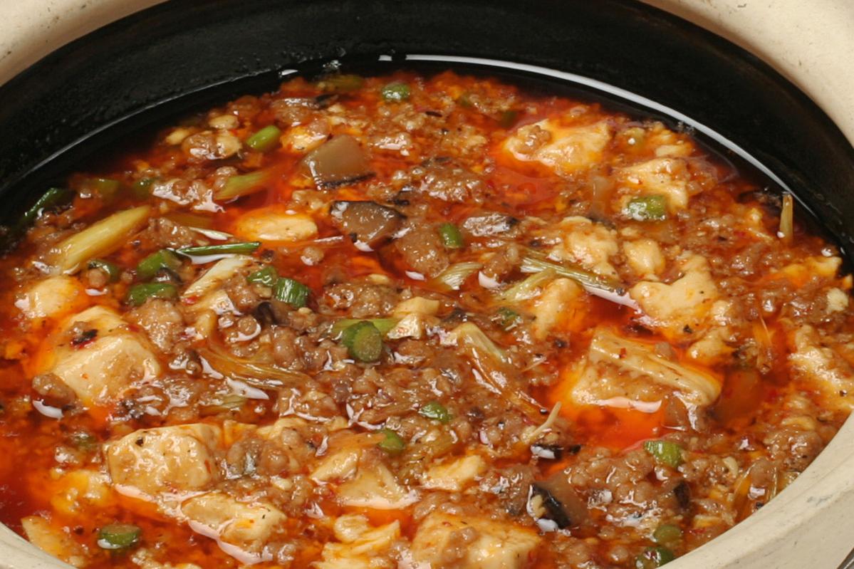 山椒風味のマーボ豆腐(辛い)