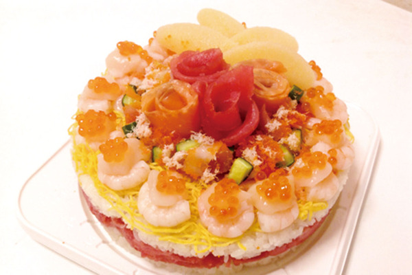 寿司ケーキ「満開」