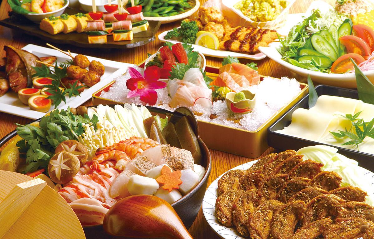 忘年会はつばさやで決まり!12・1月 白湯鶏ちゃんこ鍋 お得¥4500コース