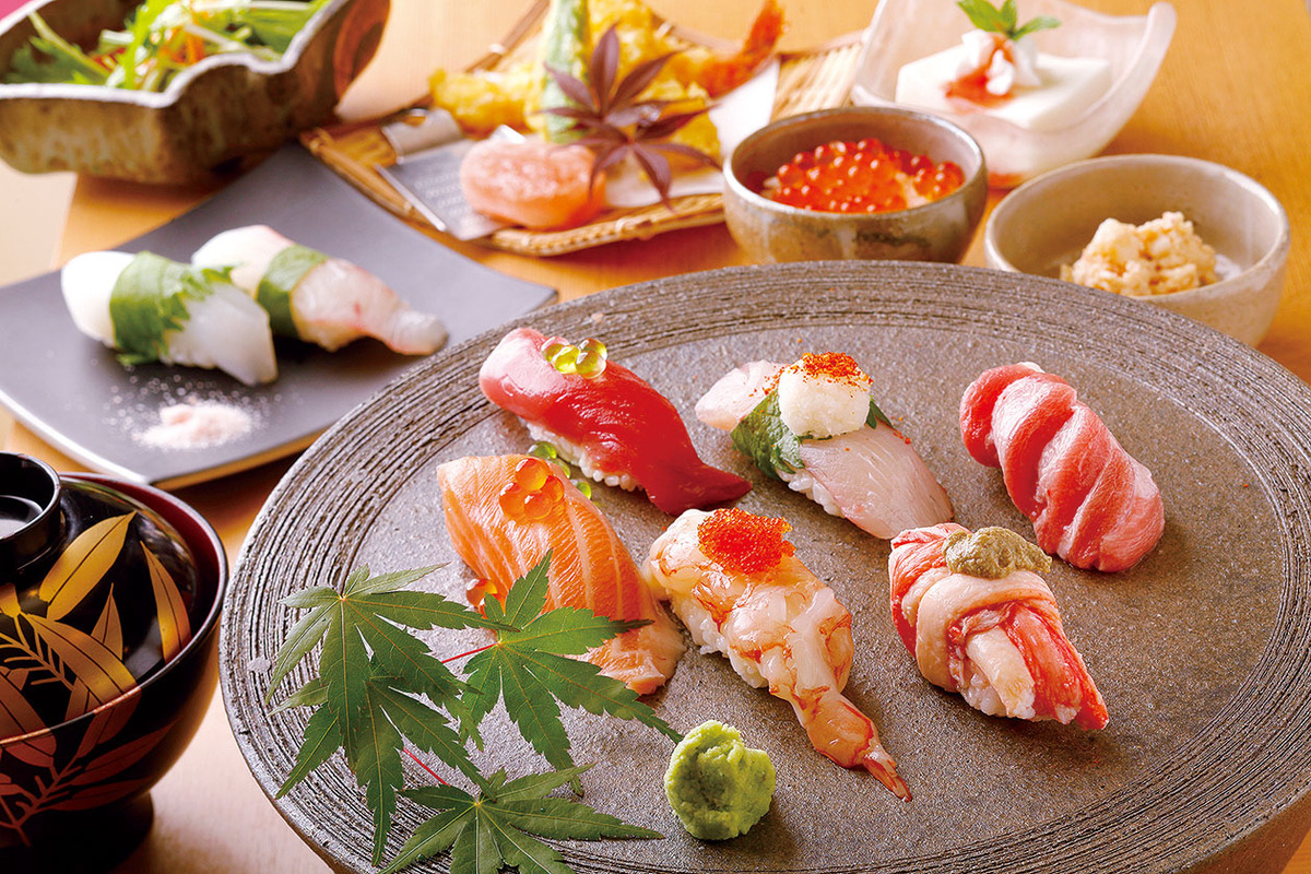 おまかせ寿司懐石(当日でも注文頂けます)