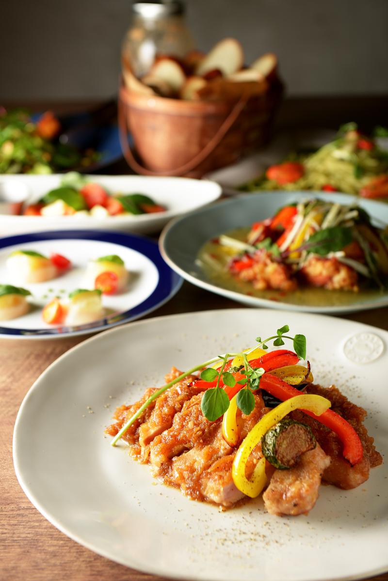 『ファイブ』★肉と魚をバランスよく使用したコース♪