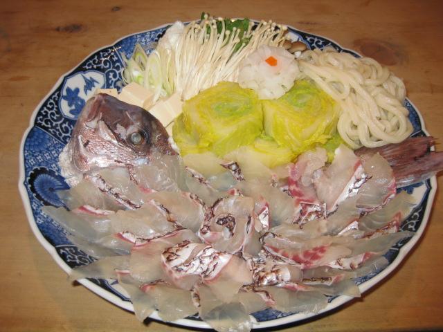 鯛しゃぶ/鶏すき焼きコース(4月~9月)